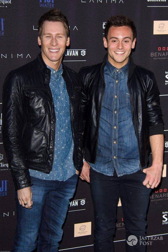 Tom Daley i Dustin Lance Black
