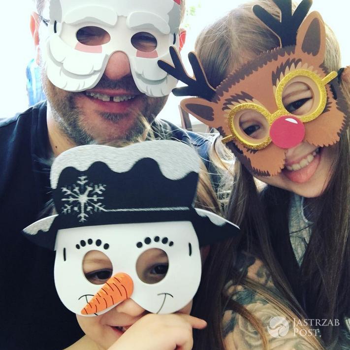 Tomasz Karolak z dziećmi - Instagram