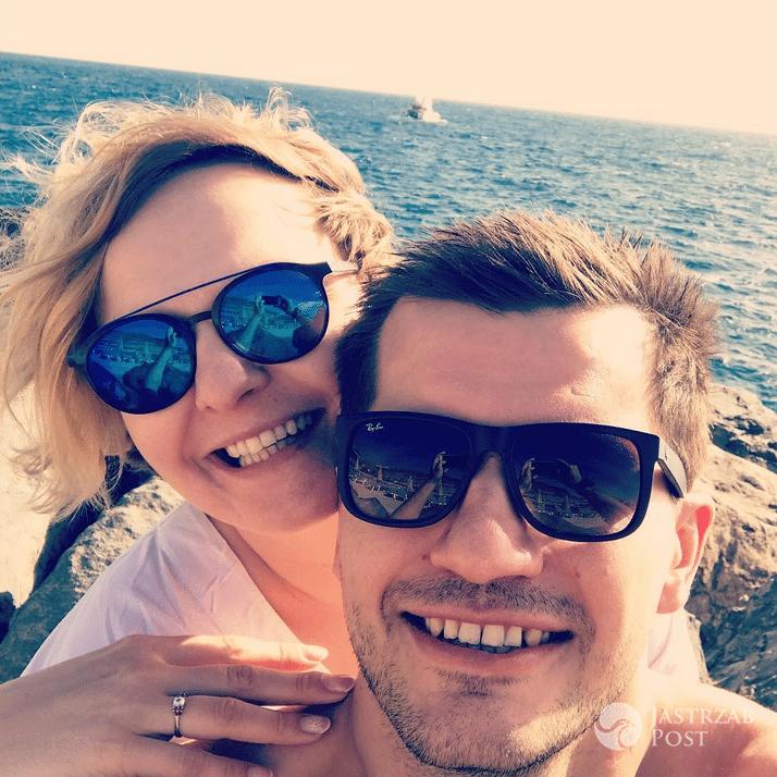 Otylia Jędrzejczak zaręczyła się z Pawłem Przybyłą - Instagram