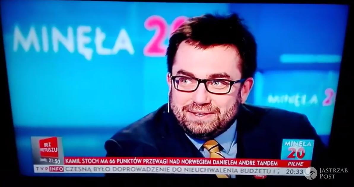Bartosz Węglarczyk o WOŚP w TVP Info