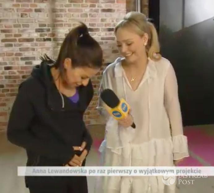 Anna Lewandowska o ciąży w Dzień Dobry TVN