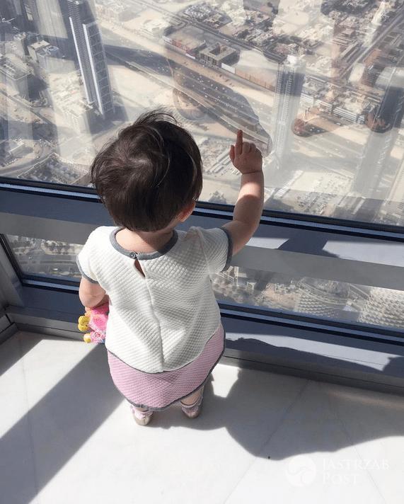 Córka Zosi Ślotały w Dubaju - Instagram