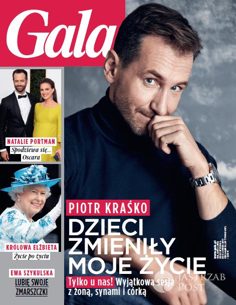 """Piotr Kraśko na okładce """"Gali"""""""