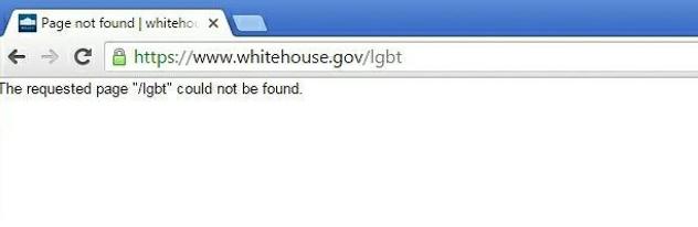 Ze strony Białego Domu zniknęła zakładka o LGBT