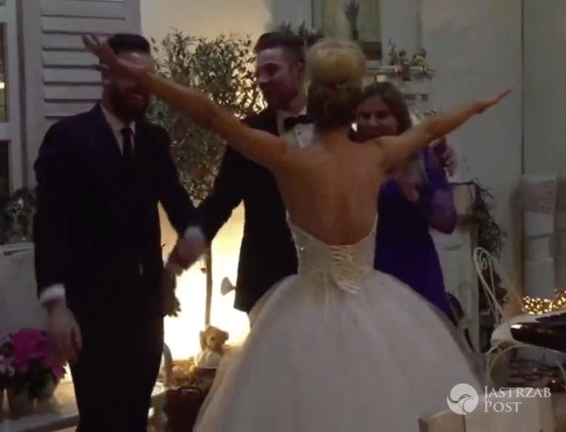 ślub Anety Sablik I Kevina Zubera Suknia ślubna Zdjęcia Wideo