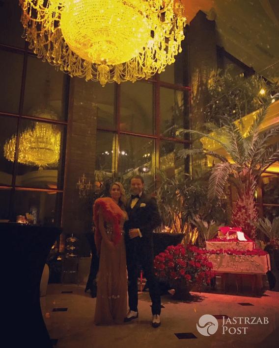 Małgorzata Rozenek i Radosław Majdan na balu w stylu filmu Wielki Gatsby - Instagram