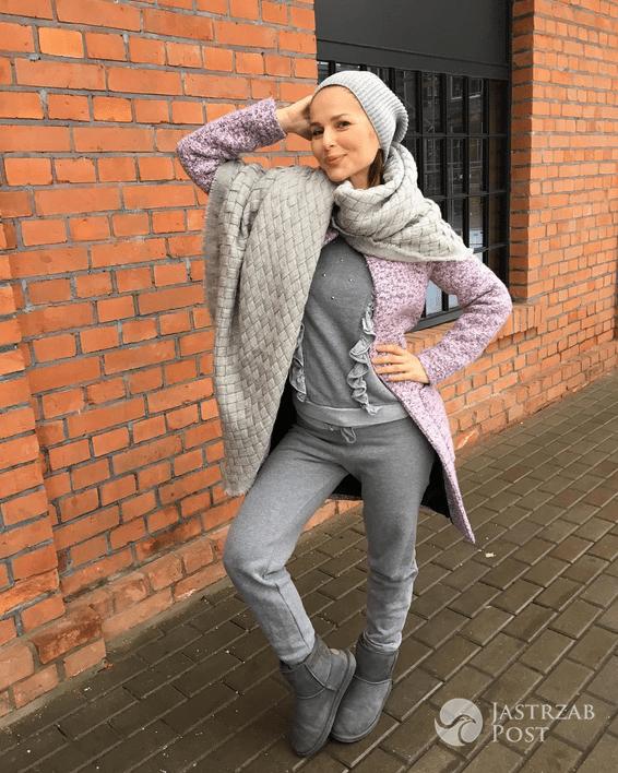 Paulina Sykut pokazała swoją stylizację na spacer z córką - Instagram