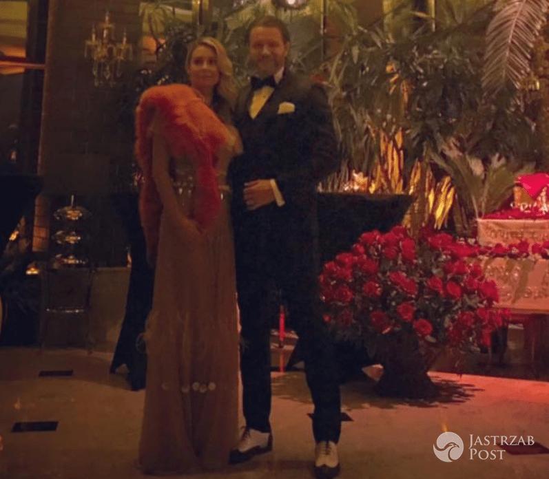 Stylizacje inspirowane Wielki Gatsby - Małgorzata Rozenek i Radosław Majdan