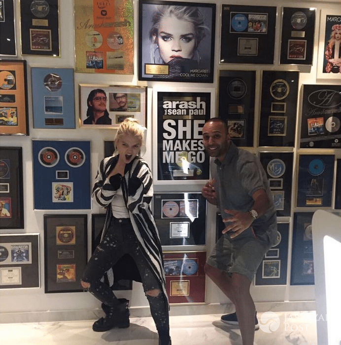 Margaret i Arash w Dubaju - nagrali piosenkę OVER YOU na Eurowizję 2017?