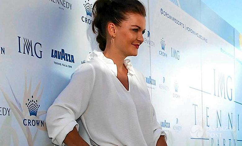 Agnieszka Radwańska na Open Party