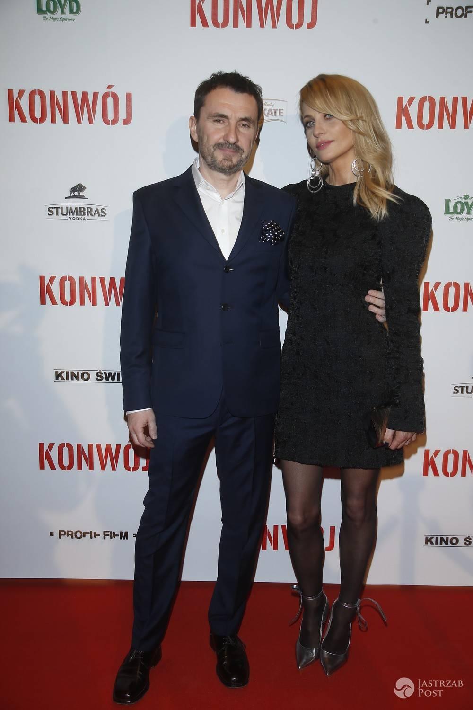 Aneta Kręglicka i Maciej Żak - Premiera filmu Konwój