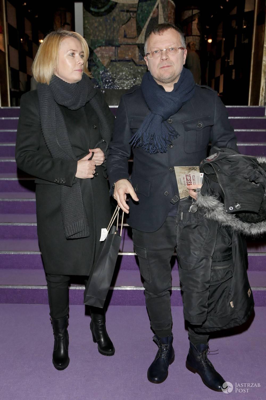 Piotr Szwedes z żoną Anną. Zdjęcia 2017