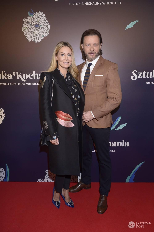 Małgorzata Rozenek-Majdan i Radosław Majdan znów nie zawiedli. Zadali szyku na premierze