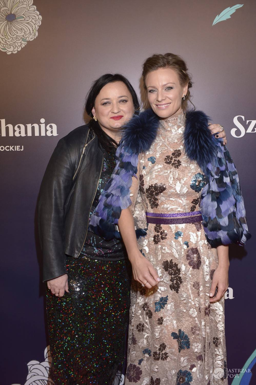 Magdalena Boczarska i Gosia Baczyńska na premierze filmu Sztuka kochania. Zdjęcia