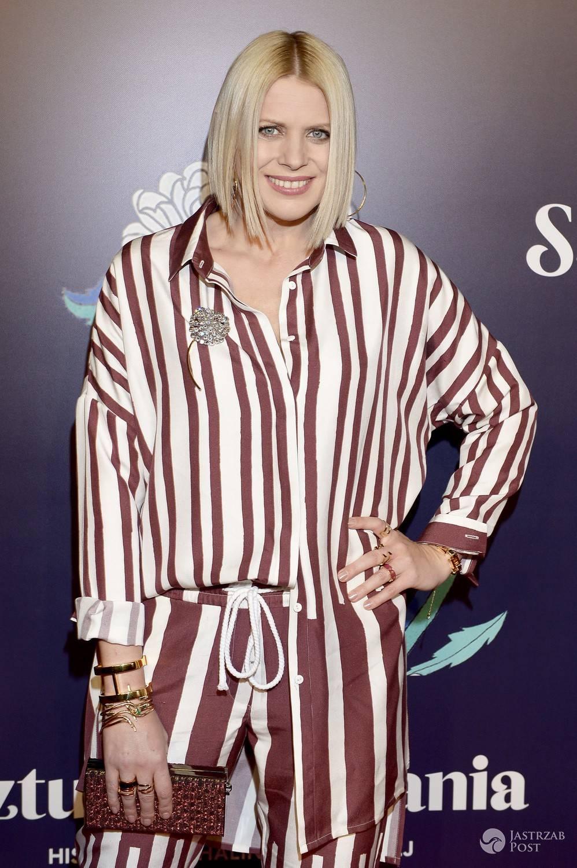 Maria Sadowska na premierze filmu Sztuka kochania. Zdjęcia