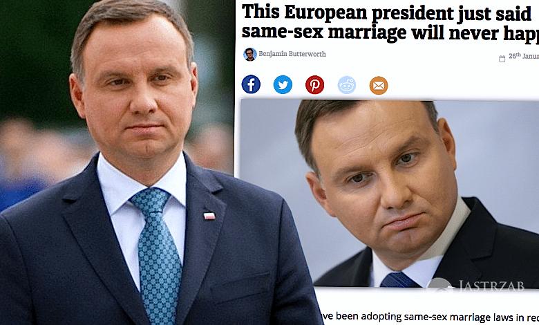 Andrzej Duda Wyśmiany Przez Gejowski Portal śluby Gejów W Polsce