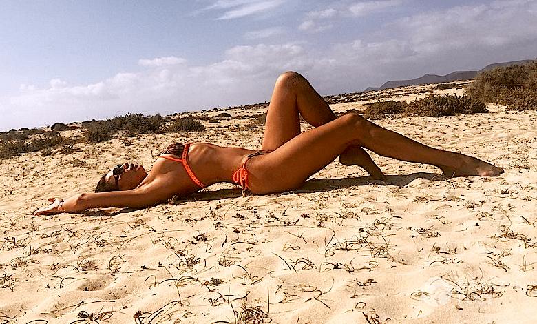 Angelika Fajcht w bikini