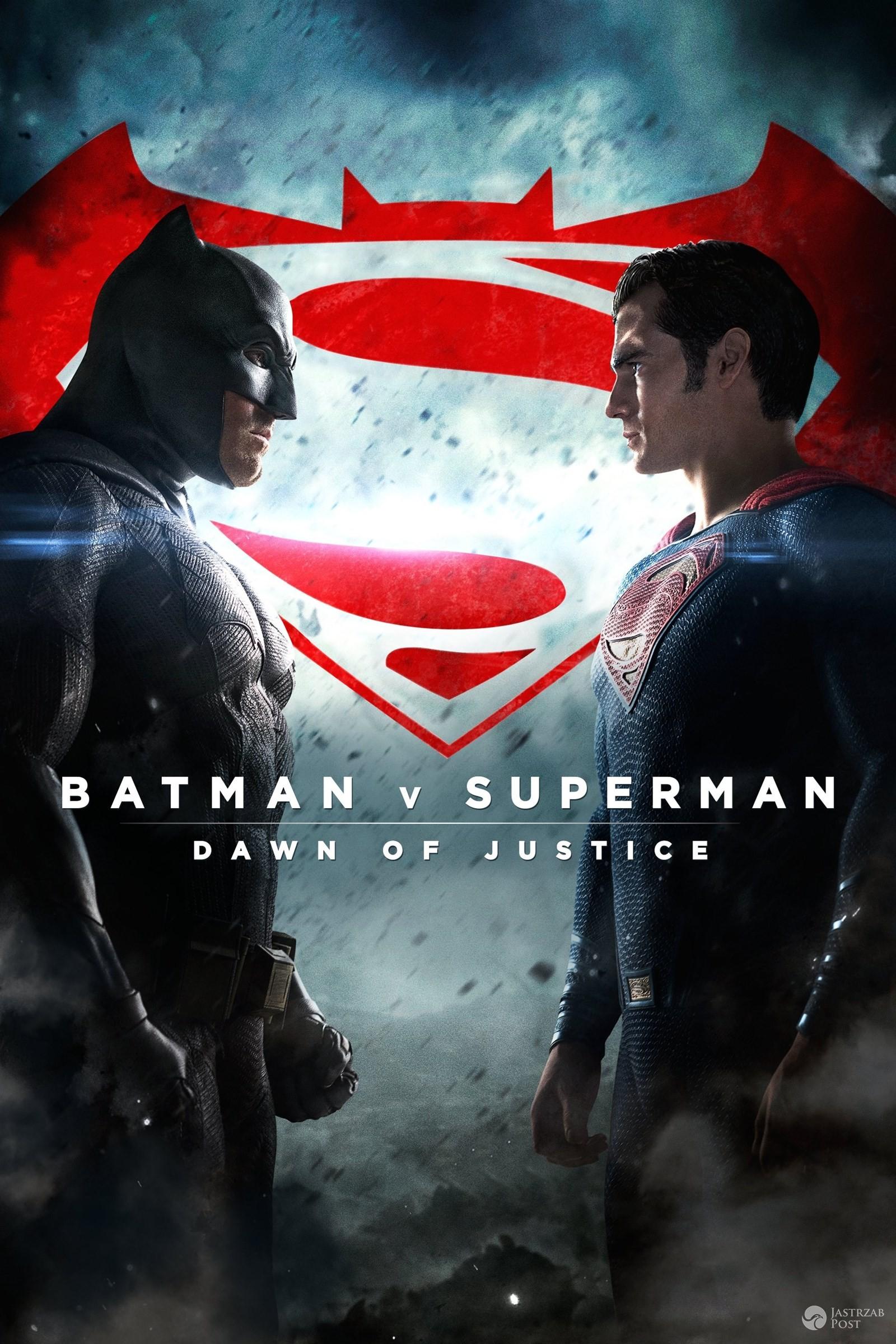 """""""Batman vs. Superman: Świt sprawiedliwości"""" - plakat filmu"""