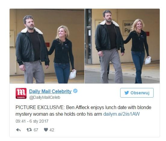 Ben Affleck ma nową dziewczynę?