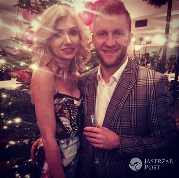 Kuba Błaszczykowski z żoną - Sylwester 2016/17