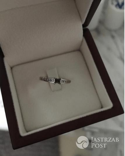 Maja Bohosiewicz pokazała uszkodzony pierścionek zaręczynowy