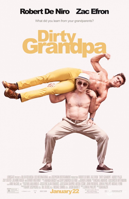 """""""Co ty wiesz o swoim dziadku?"""" - plakat filmu"""