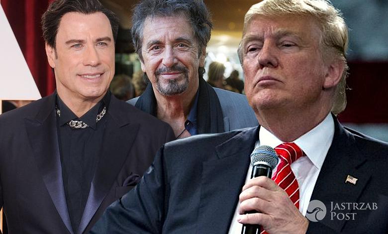 Donald Trump krytykowany przez gwiazdy