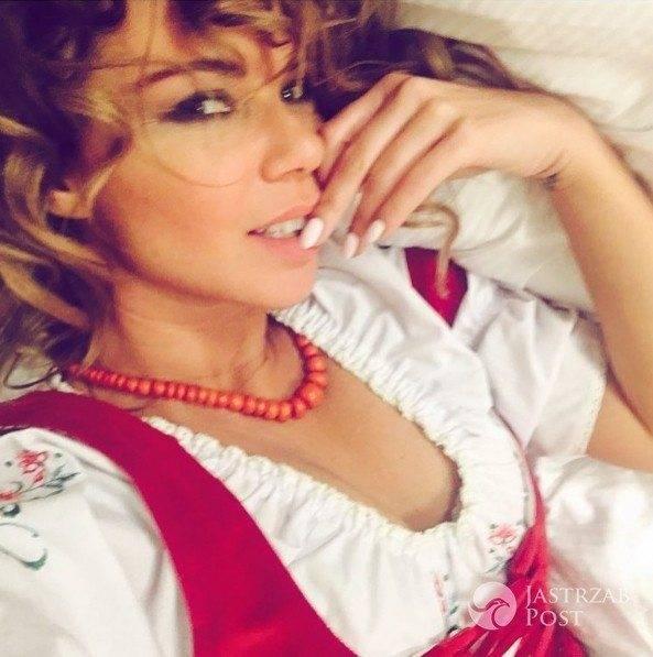 Edyta Górniak po swoim koncercie sylwestrowym - fot. Instagram