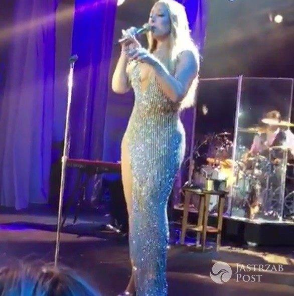 Mariah Carey śpiewa na weselu