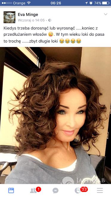 Eva Minge zmieniła fryzurę