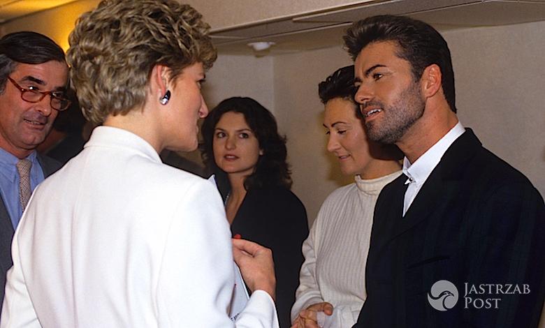 George Michael i księżna Diana przyjaźnili się