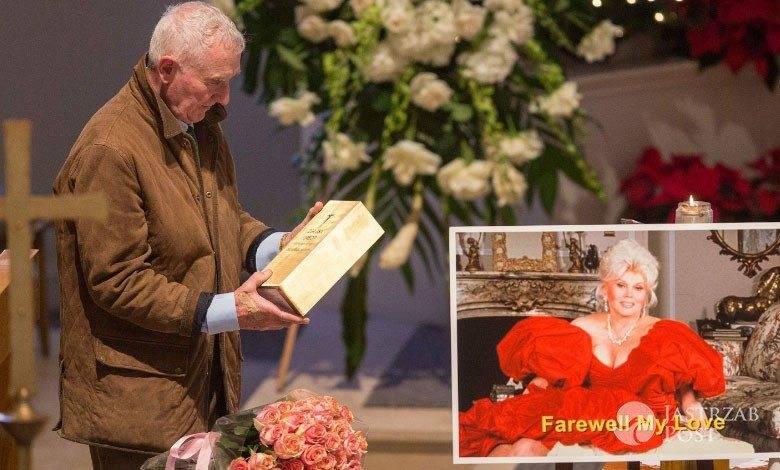 Zsa Zsa Gabor - zdjęcia z pogrzebu