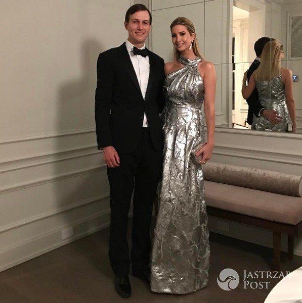 Ivanka Trump pokazała zdjęcie z mężem w wieczorowych strojach