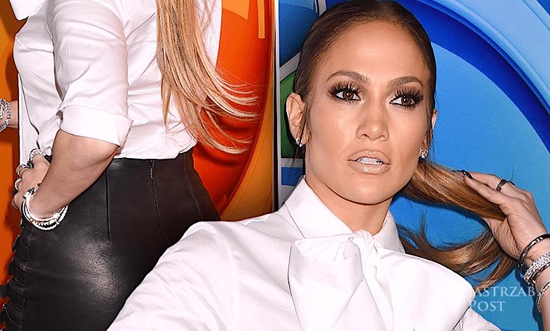 Jennifer Lopez nogi i pupa
