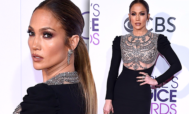 Jennifer Lopez stylizacja People's Choice Awards 2017