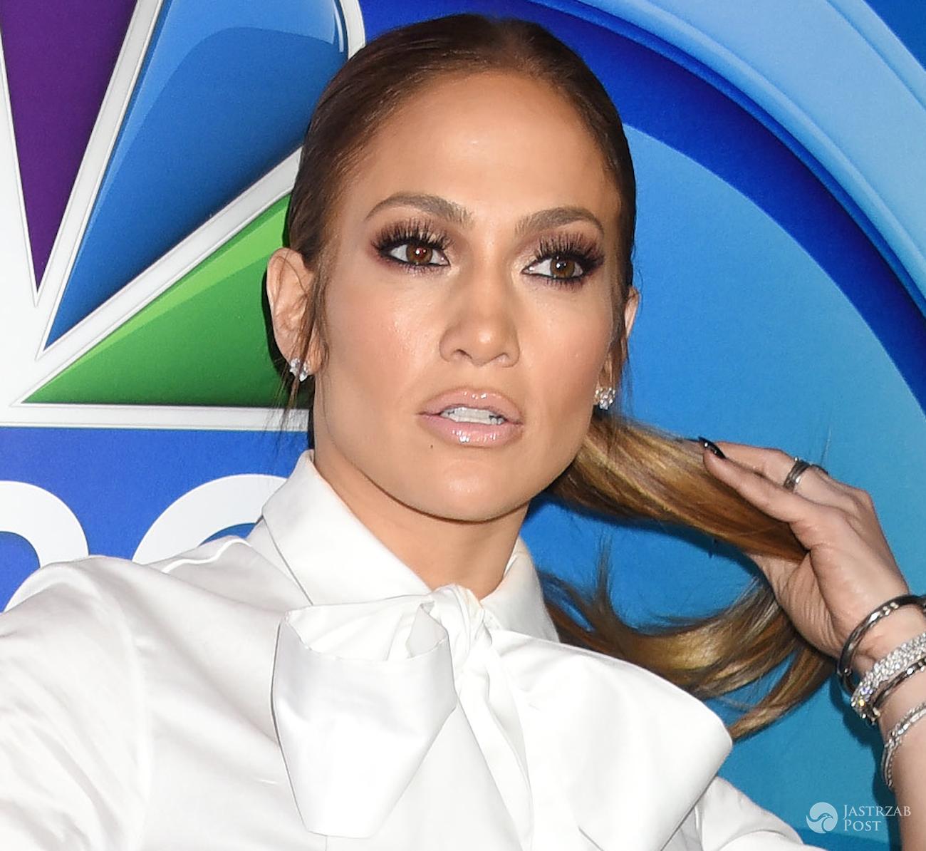 Makijaż Jennifer Lopez 2017