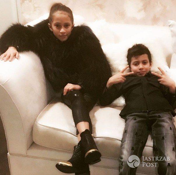 Dzieci Jennifer Lopez: Max i Emmy (fot. Instagram)
