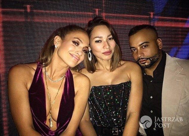Jennifer Lopez w naszyjniku Drake'a - Sylwester 2016/2017
