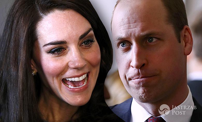 Księżna Kate śmieje się z księcia Williama