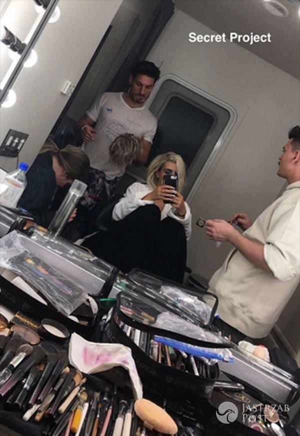 Kim Kardashian zmieniła fryzurę i zapowiada secret project
