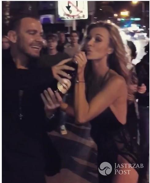 Joanna Krupa i Dawid Woliński świętują Nowy Rok w Miami!