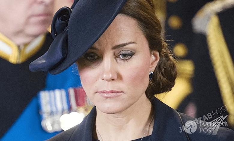 Księżna Kate chora