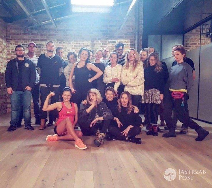 Anna Lewandowska kręci program o ćwiczeniach dla kobiet w ciąży