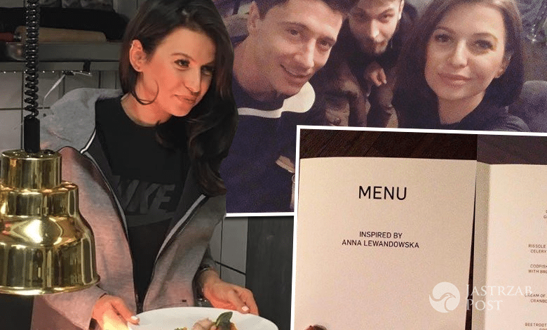 Anna Lewandowska menu