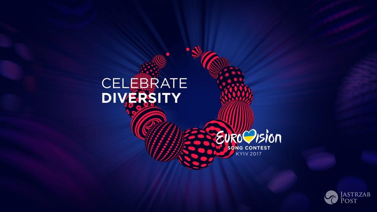 Logo i hasło Eurowizji 2017 - Celebrate Diversity