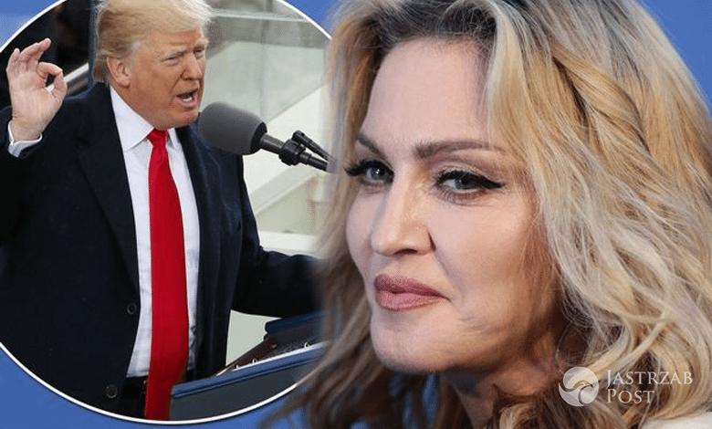 Madonna i Donald Trump
