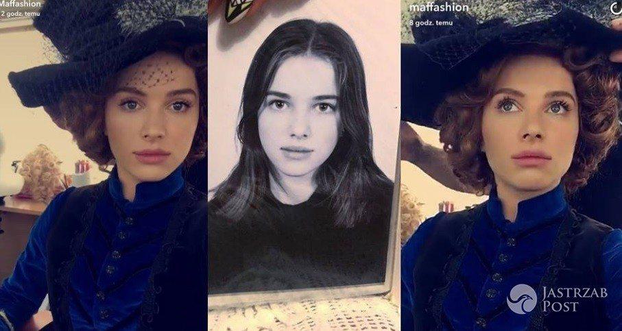 Maffashion pokazała zdjęcie z dzieciństwa