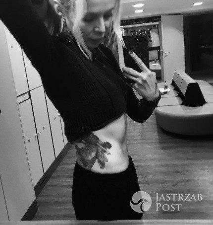 Maja Sablewska chwali się umięśnionym brzuchem