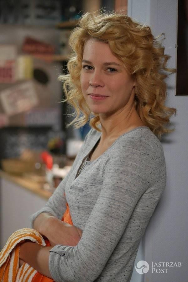 Maria Szafirska blondynką