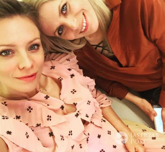 Maria Sadowska i Magdalena Boczarska na premierze filmu Sztuka kochania w Gdańsku